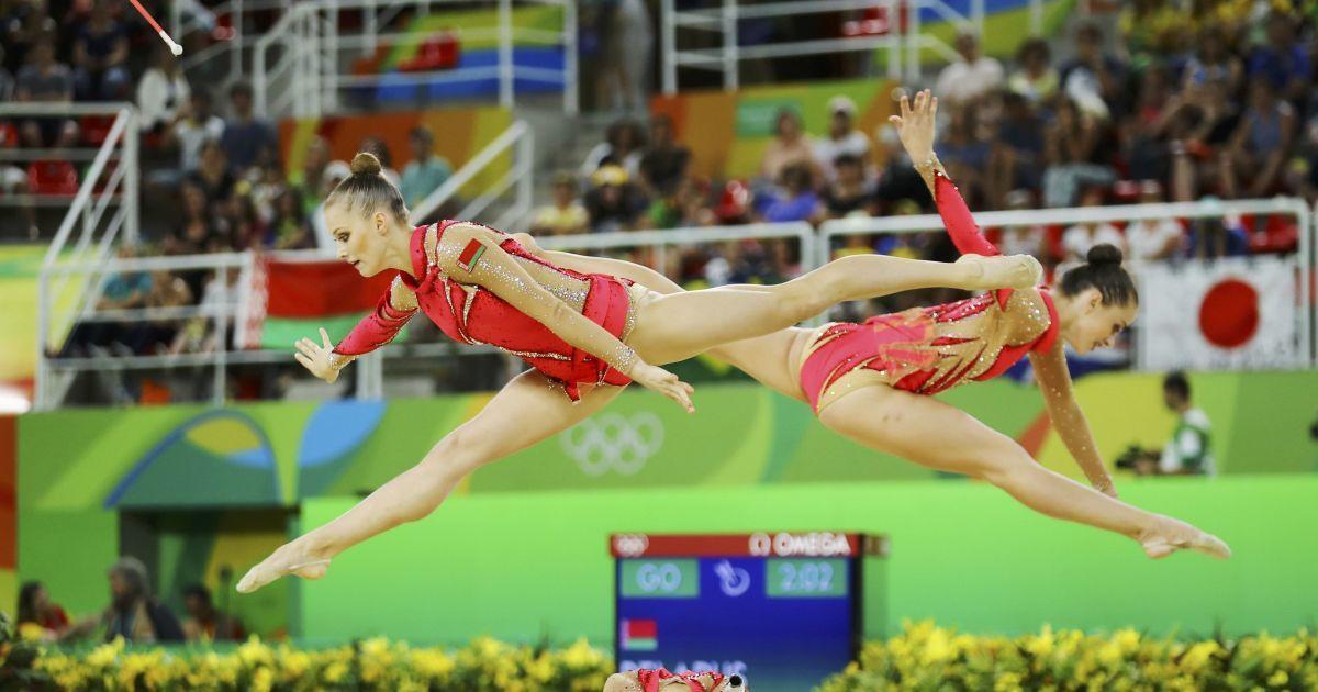 Фото змагань із художньої гімнастики @ Reuters