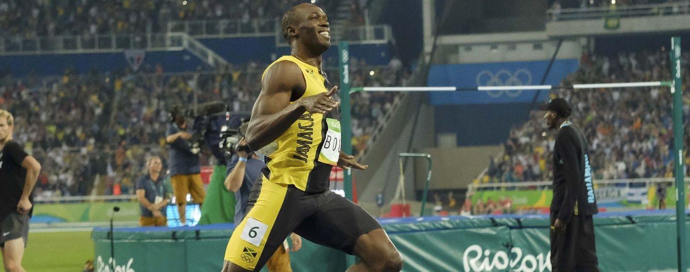 """Ямайський бігун Болт """"підірвав"""" соцмережі після посмішки в камеру на Олімпіаді в Ріо"""