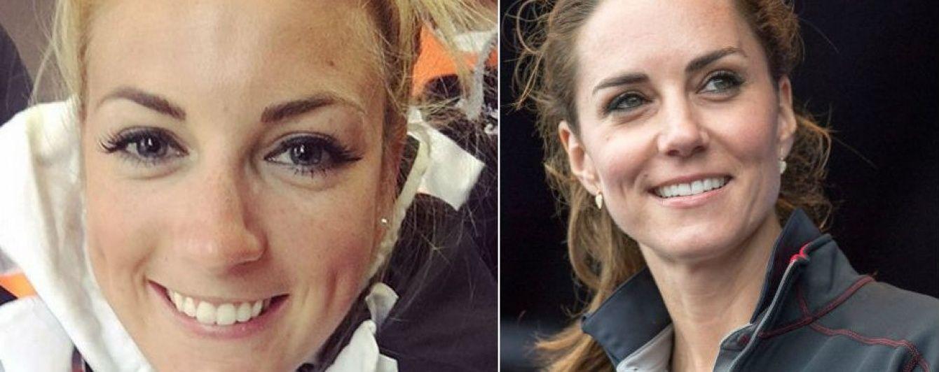Есть ли сходство: у герцогини Кембриджской на Олимпиаде в Рио нашелся двойник