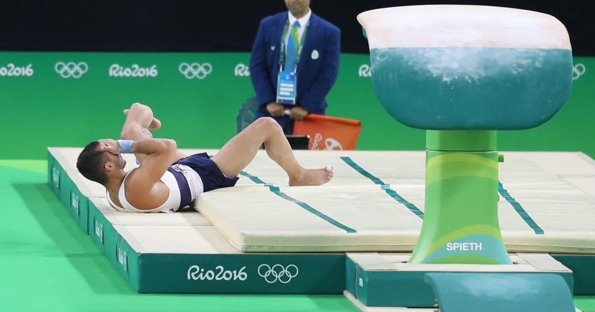 Самір Аіт Саїд  зламав ногу на Олімпіаді @ Reuters