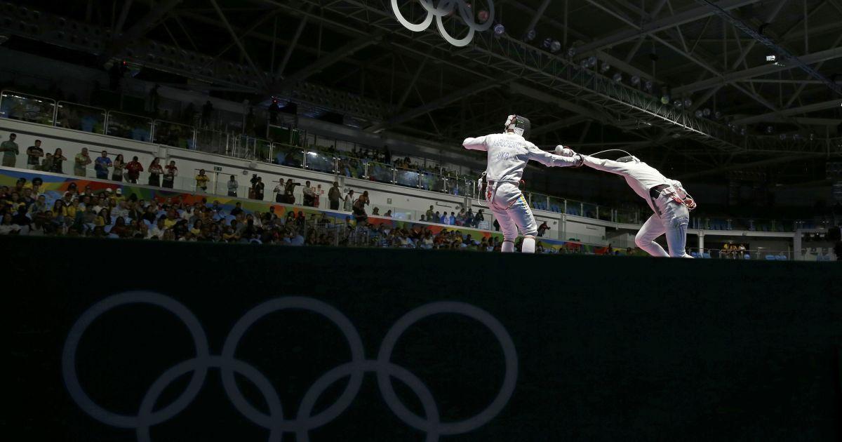 Український шпажист вилетів з Олімпійських ігор-2016