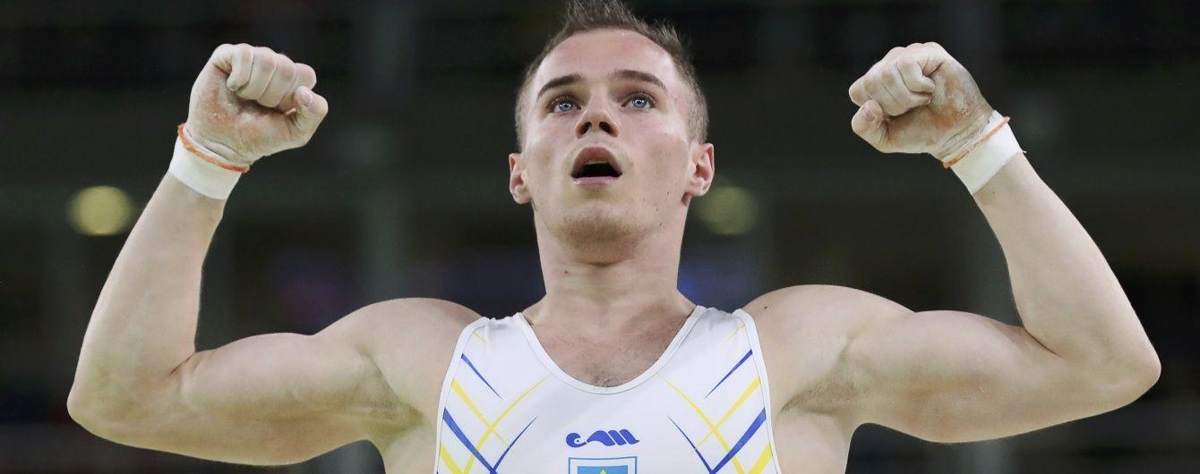 Гімнаст Верняєв виграв третю медаль України на Олімпійських іграх-2016