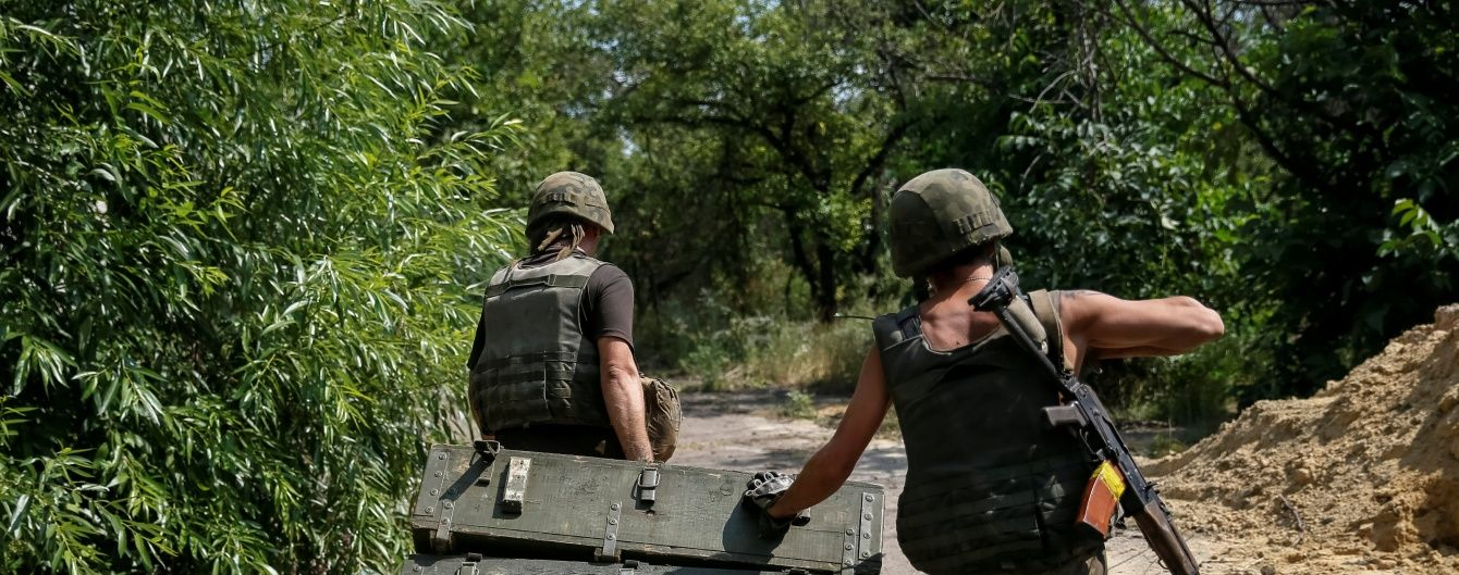 Ночью под Авдеевкой в массированных обстрелах погибли четверо военных