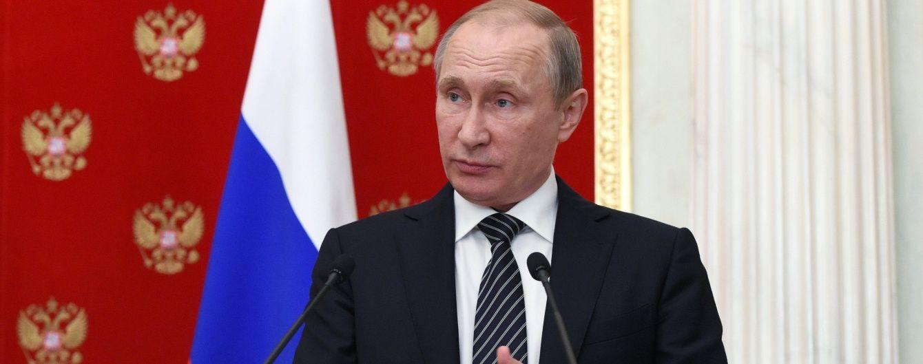 Путін скликав російський Радбез для обговорення ситуації в окупованому Криму
