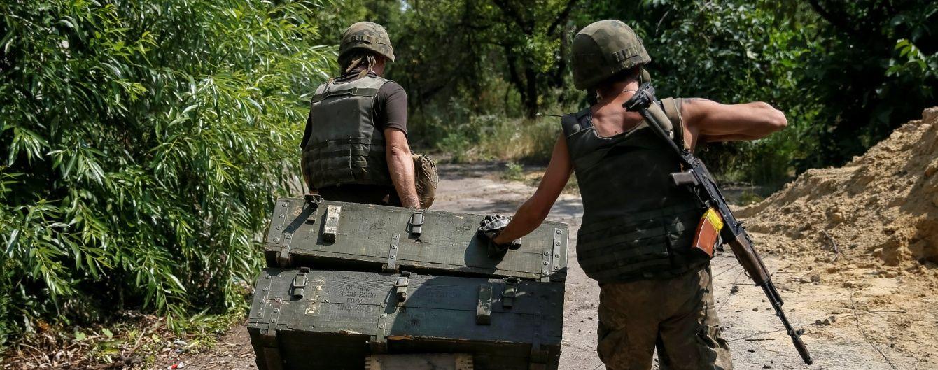За минулу добу в зоні АТО загинуло троє українських військових