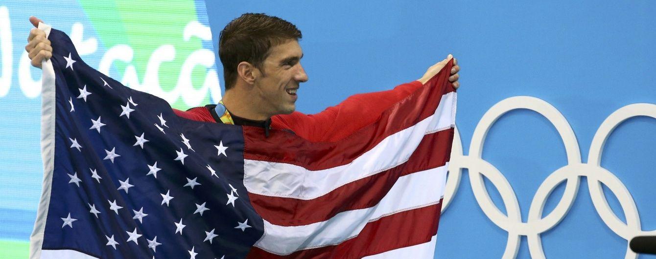 Фелпс побив власний рекорд золотих медалей Олімпійських ігор у своїй останній гонці
