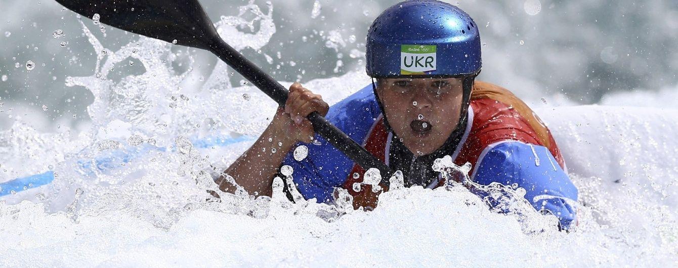 Українка Ус не змогла вийти в історичний фінал олімпійського турніру з веслувального слалому