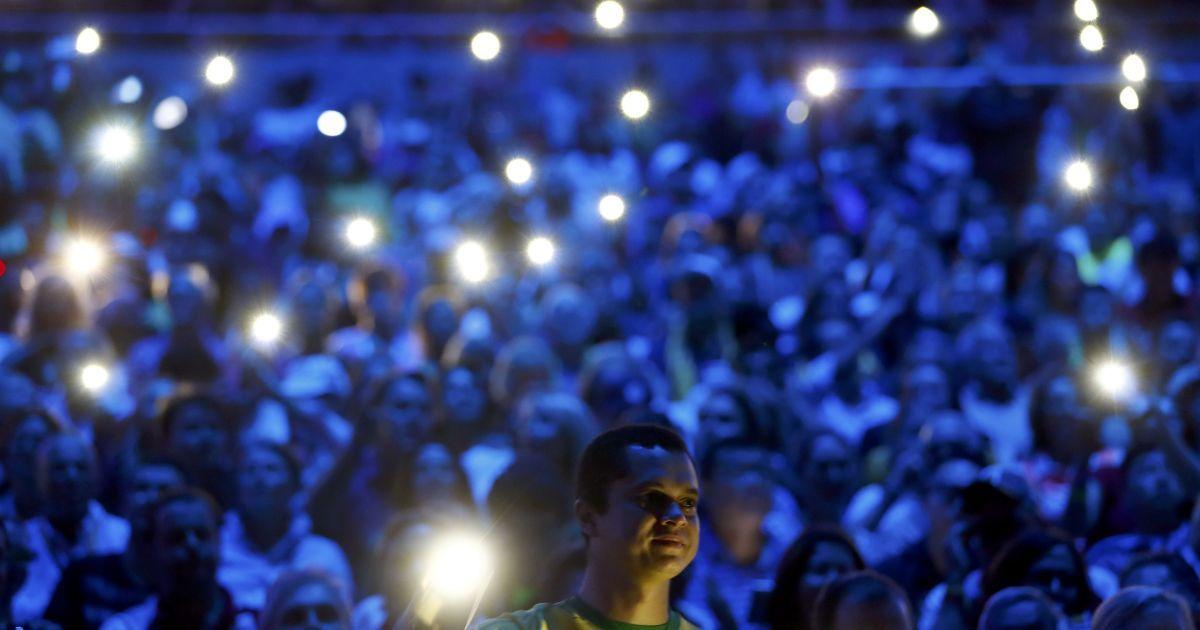 Ріо-де-Жанейро, Бразилія. Церемонія відкриття Олімпійських ігор 2016 року.