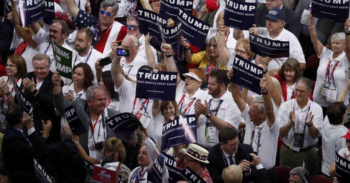 Трампа официально выдвинули в президенты США