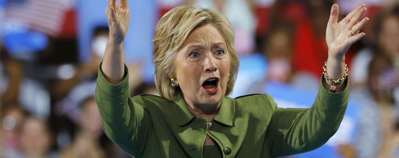 Клінтон стурбована втручанням РФ в процес виборів в США