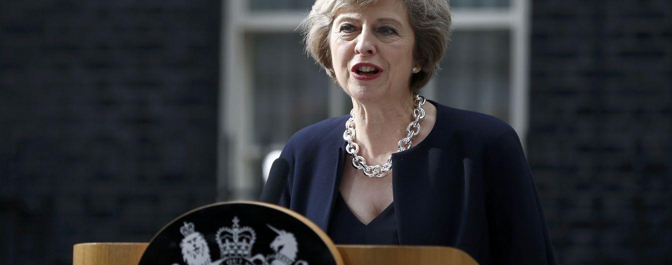 Новий прем'єр-міністр Великобританії взяла тайм-аут у Brexit