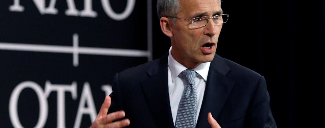 Столтенберг пояснив розширення НАТО військовими прагненнями Росії