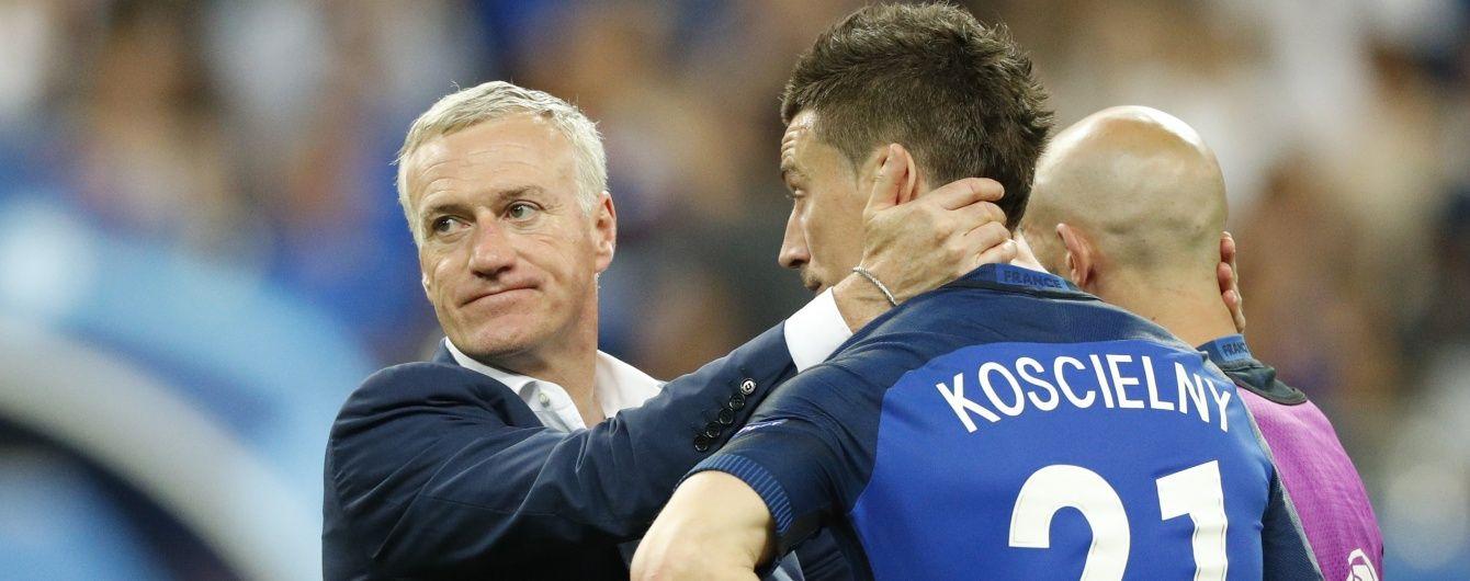 Дешам назвав жорстоким програш Франції у фіналі Євро-2016