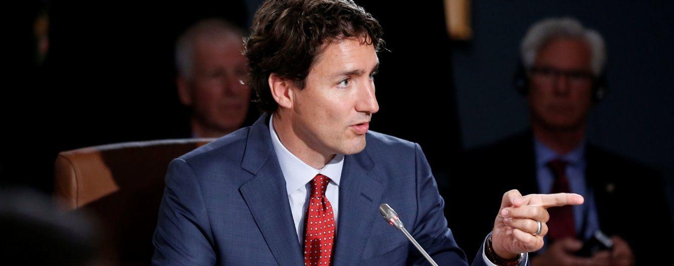 Прем'єр-міністр Канади прилетів в Україну