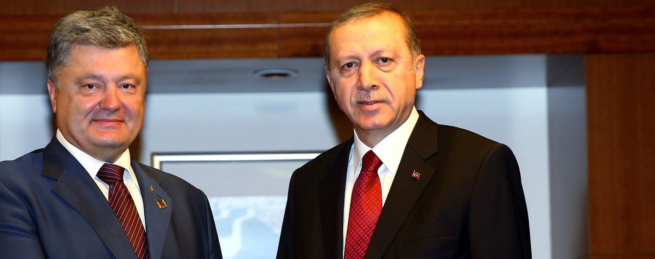 На Банковій повідомили про домовленості Порошенка та Ердогана