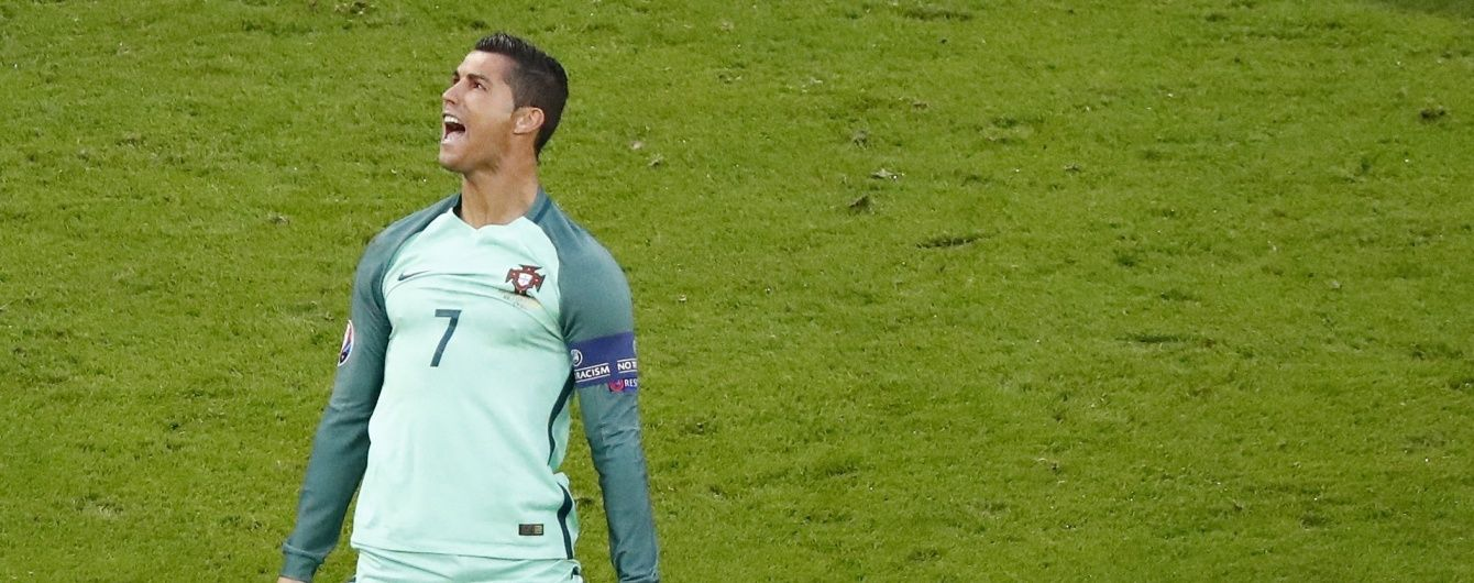 Роналду запросив на фінал Євро-2016 вдову італійського футболіста