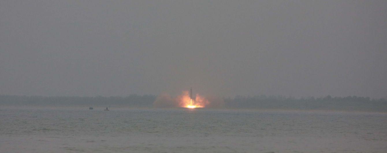 У США заявили про запуск двох північнокорейських ракет