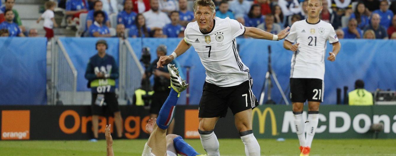 Швайнштайгер відновився від травми і вийде в основі у півфіналі Євро-2016