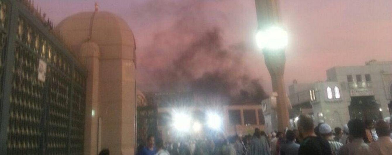Зросла кількість жертв теракту біля ісламської святині, де поховано Мухаммеда