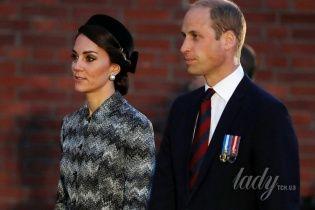 Кембриджи во Франции: скромный выход герцогини Кейт