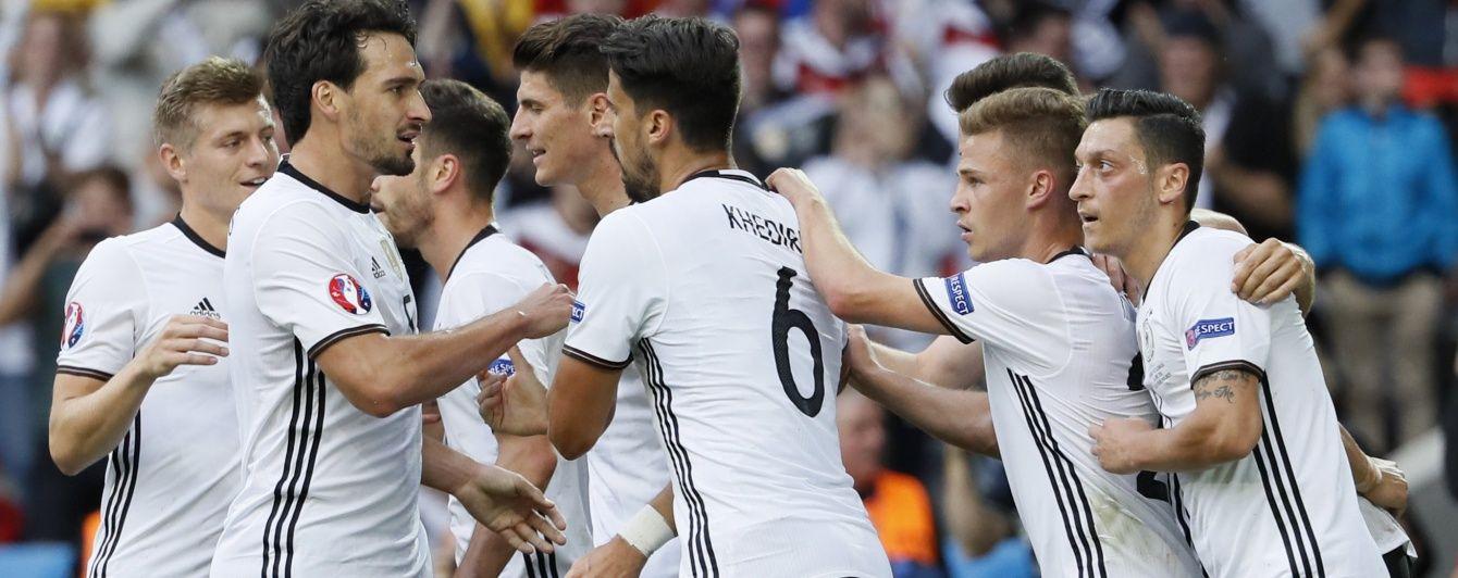 Німеччина не помітила словаків на шляху до чвертьфіналу Євро-2016