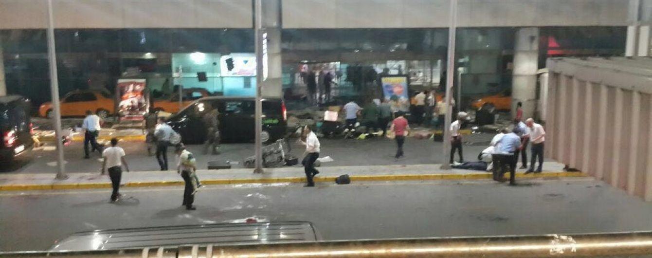 Теракт у Стамбулі: з'явилися відео вибухів в аеропорту з камер спостереження