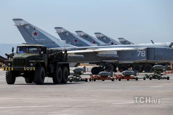 російська авіація в Сирії