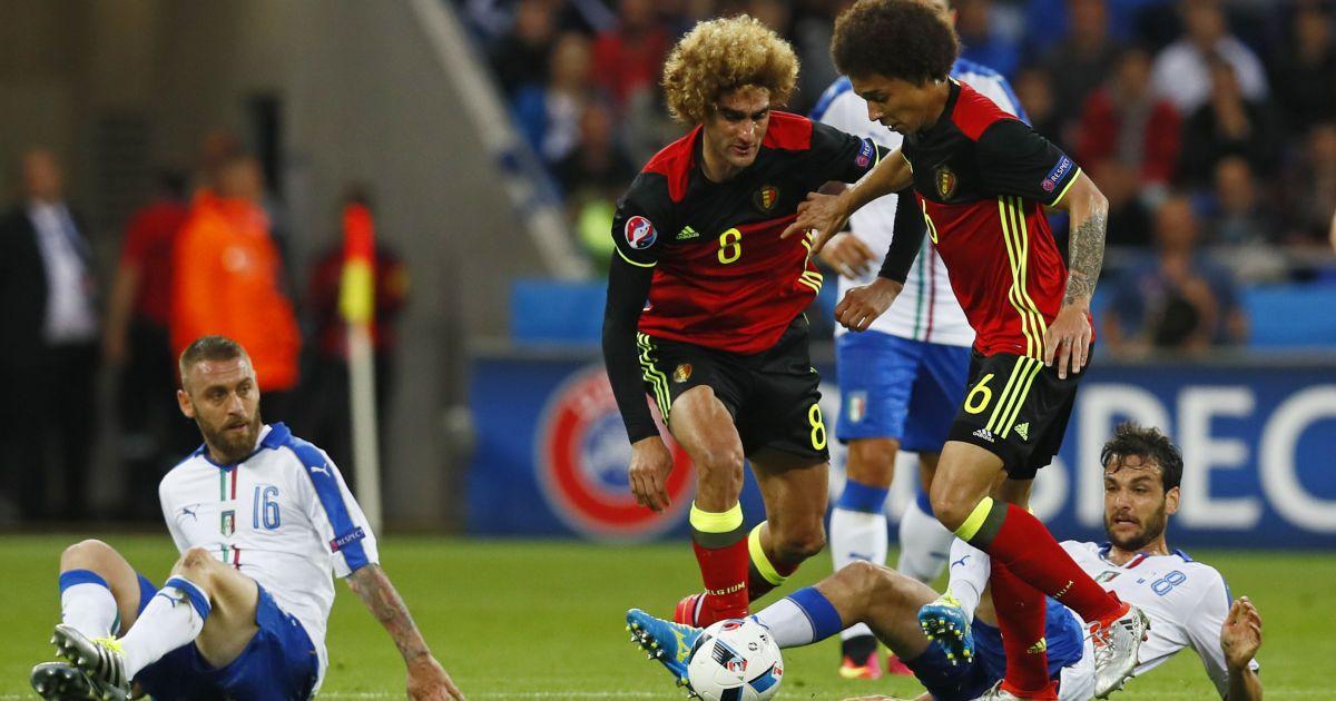 Італія - Бельгія - 2:0. @ Reuters
