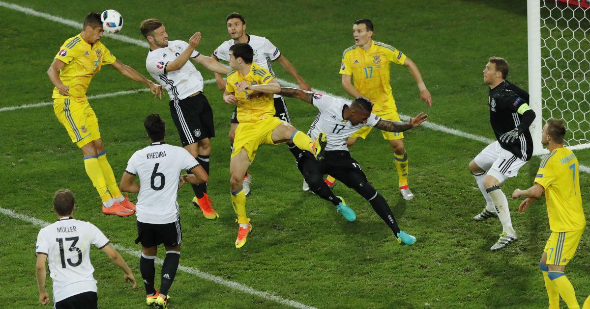 Найкращі моменти поєдинку Німеччина - Україна