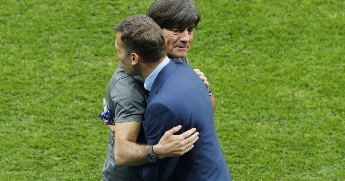 Шевченко поскаржився на невезіння після поразки від Німеччини