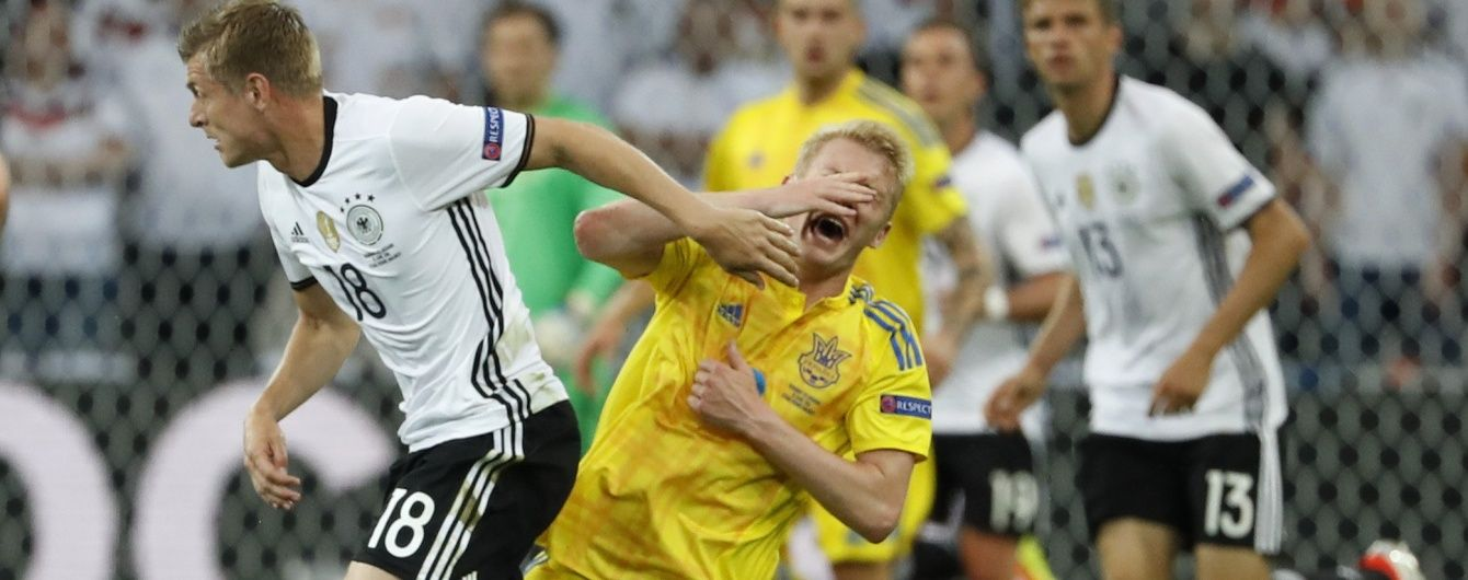 Німеччина - Україна - 2:0. Дивись відео голів матчу першого туру Євро-2016