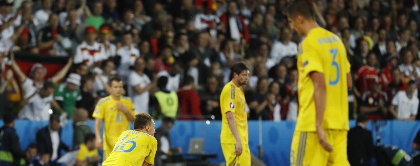 Євро-2016. Збірна України програла Німеччині та інші результати матчів 12 червня