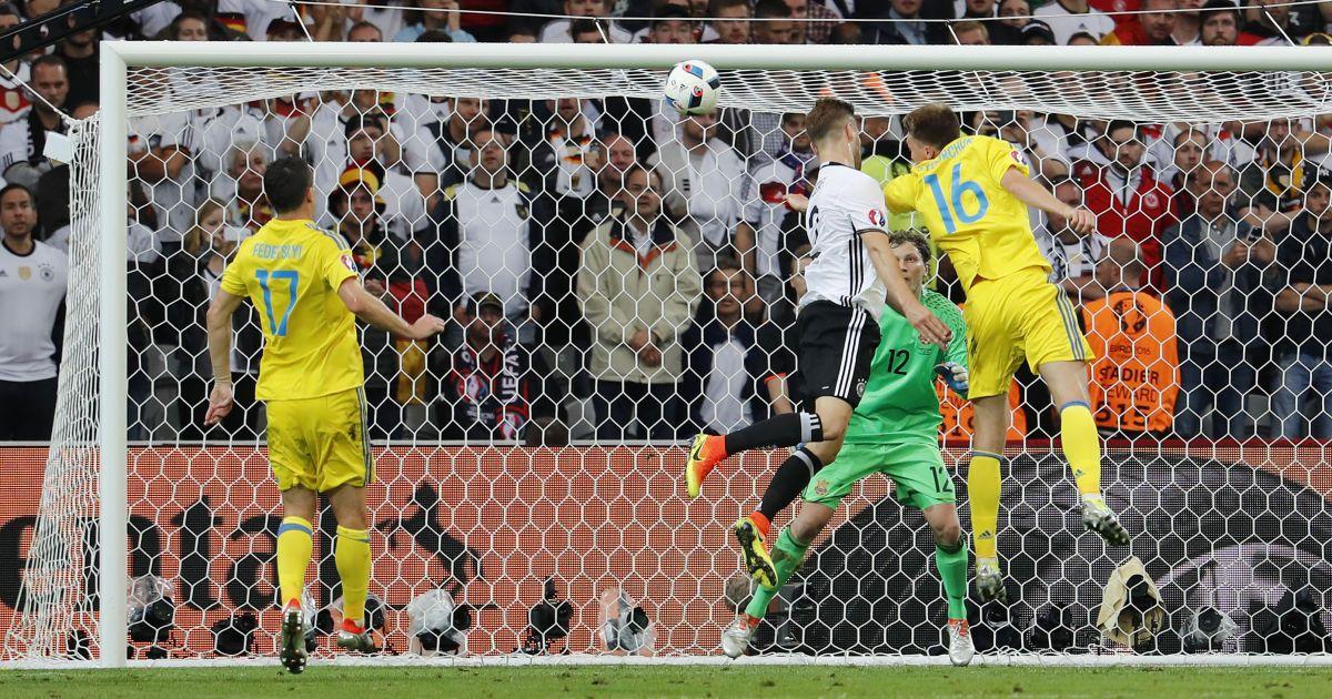 Україна з боєм програла Німеччині у першому матчі Євро-2016