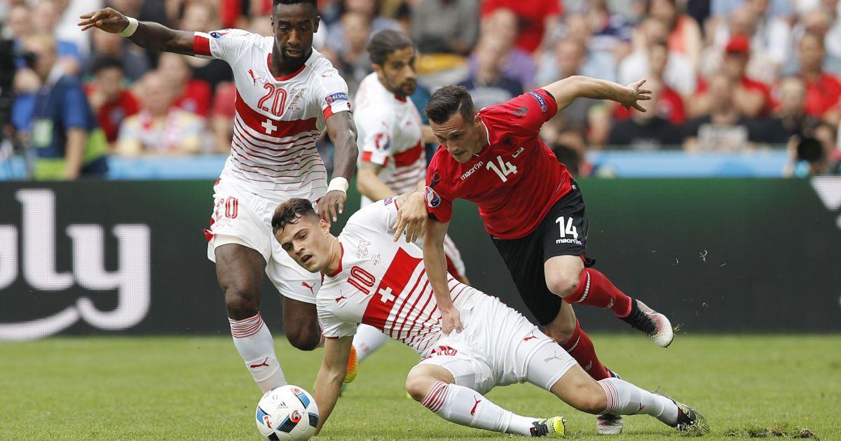 Швейцарія обіграла Албанію @ Reuters