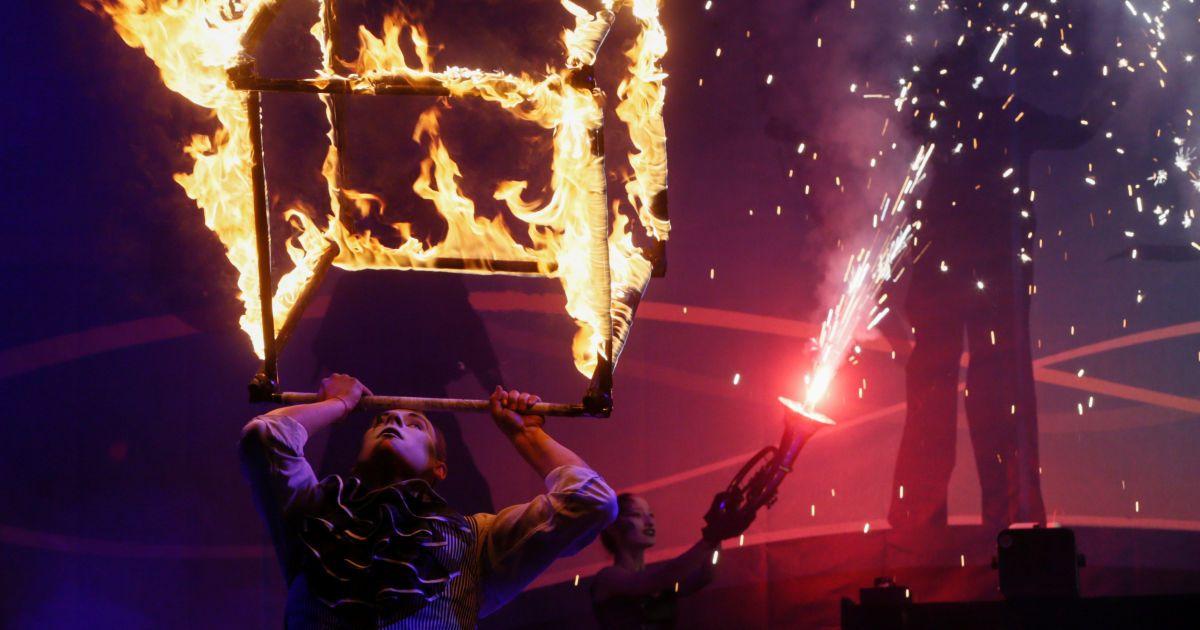 Киян вразили вогняним шоу @ Reuters