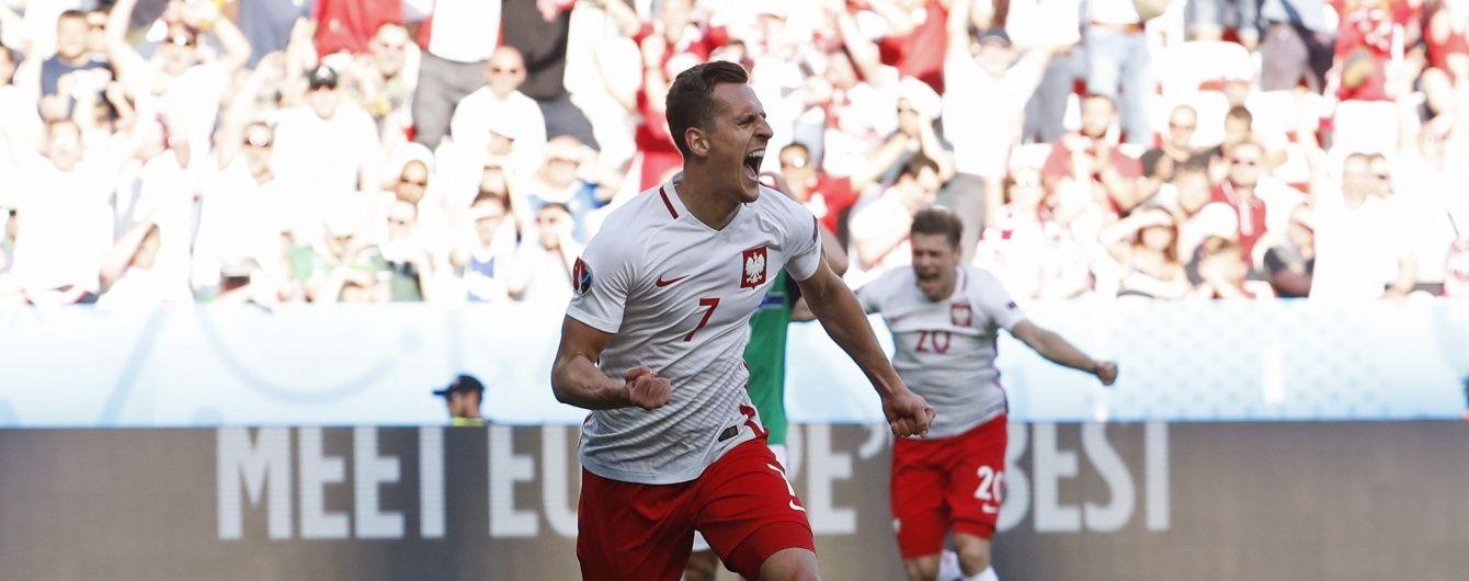 Польща не без проблем обіграла Північну Ірландію на Євро-2016