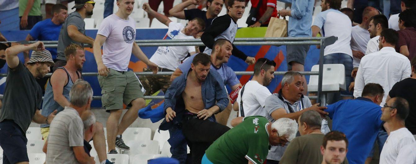 Усіх фанів з російського автобусу затримали через смерть англійця - російський вболівальник