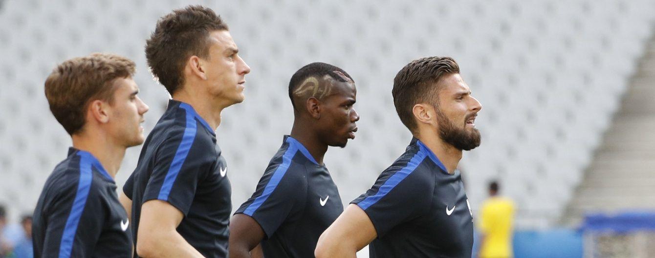 Франція та Румунія назвали склади на перший матч Євро-2016