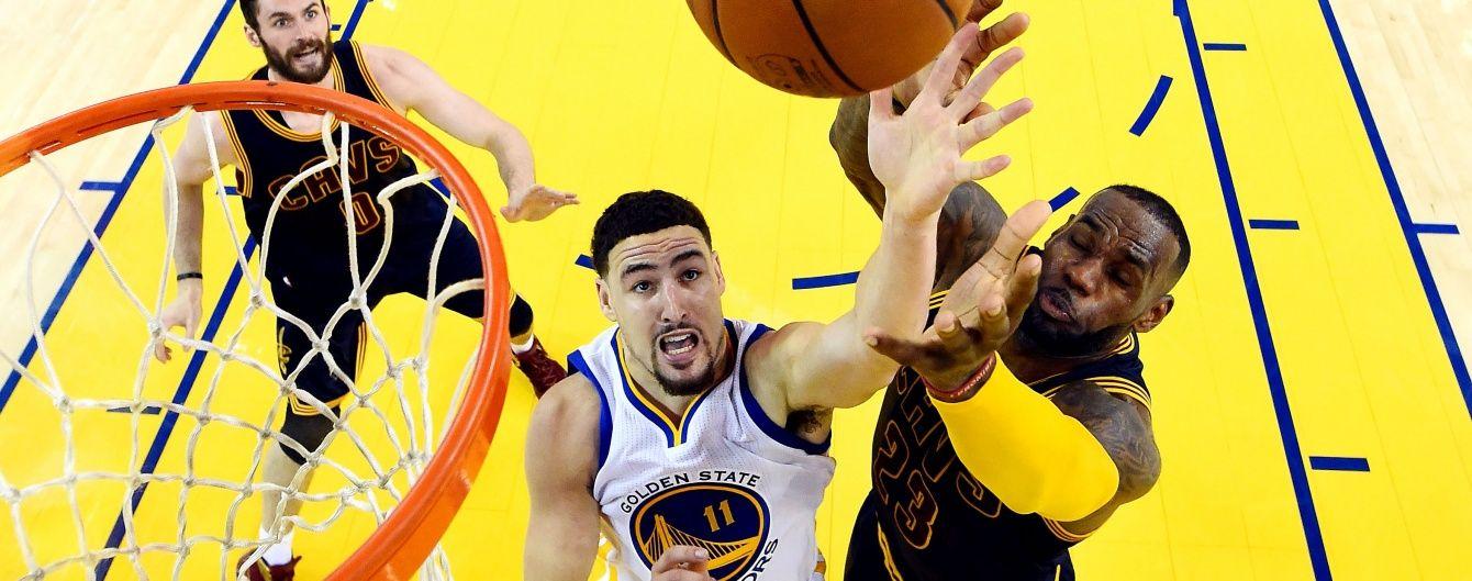 """""""Голден Стейт"""" подвоїв перевагу над """"Клівлендом"""" у фіналі НБА"""
