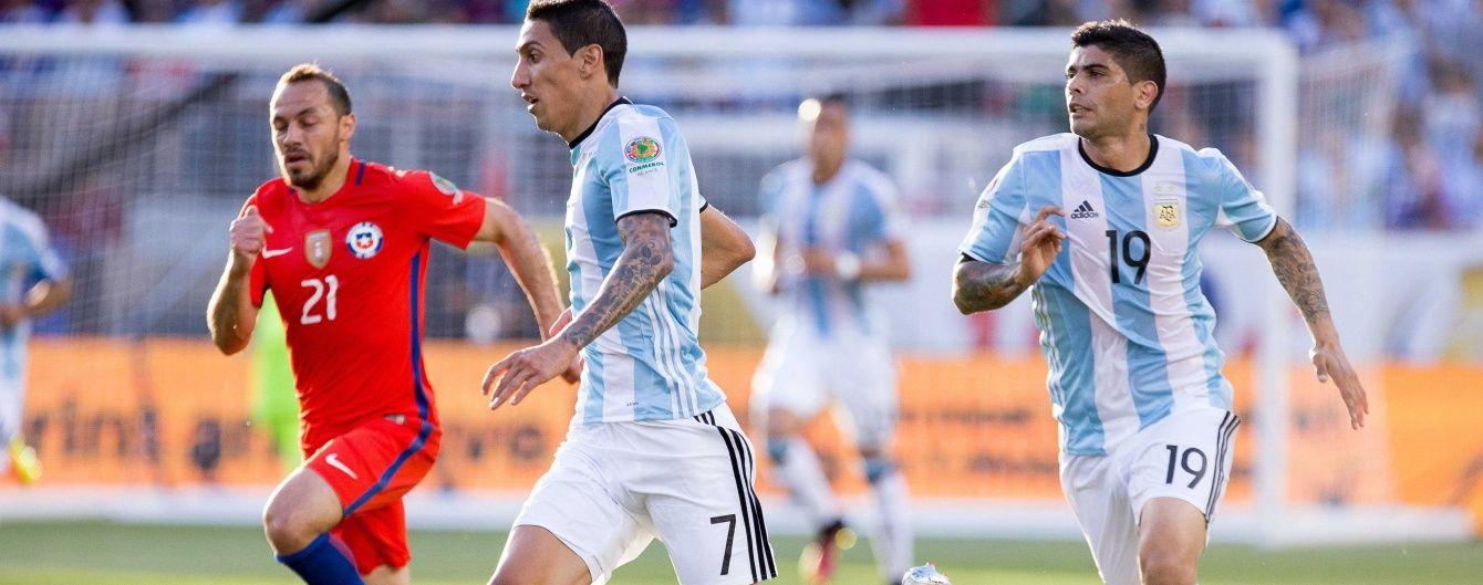 Аргентина обіграла Чилі, Панама перемогла Болівію. Результати матчів Копа Америка-2016