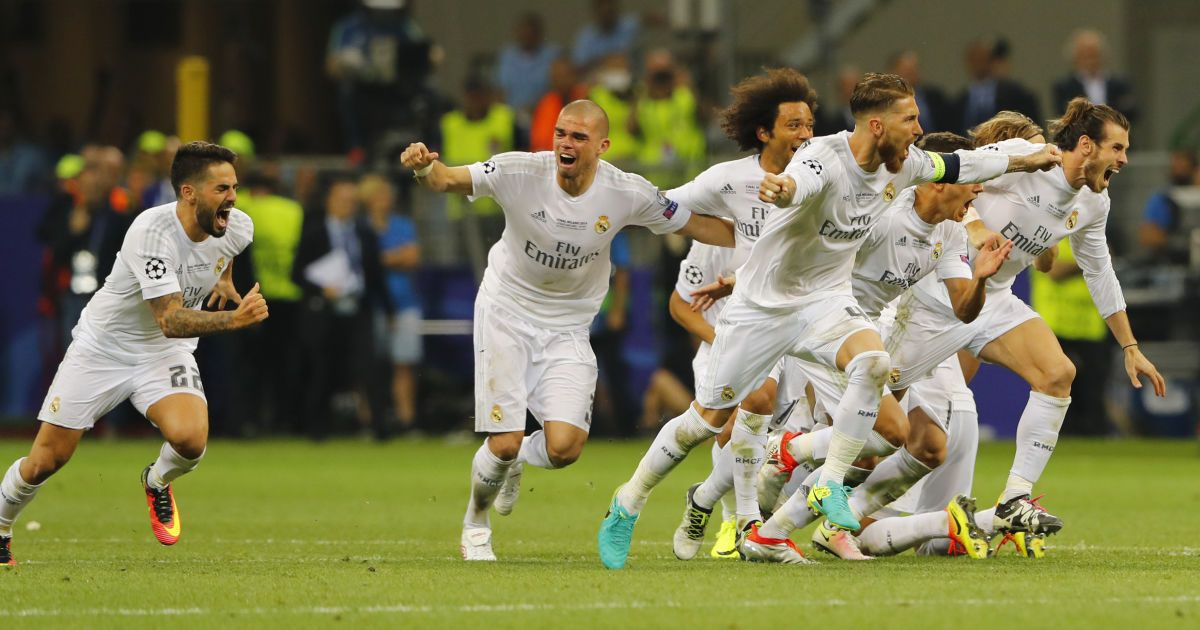 """Серія післяматчевих пенальті. """"Реал"""" виграв Лігу чемпіонів"""