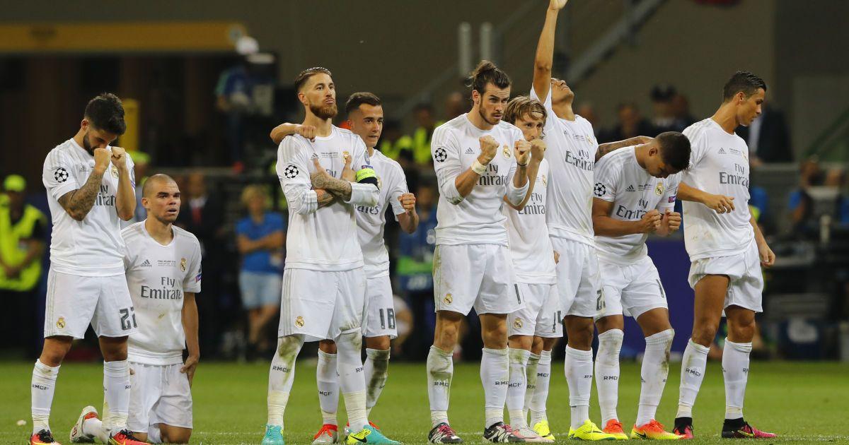 """Серія післяматчевих пенальті у фіналі Ліги чемпіонів """"Реал"""" - """"Атлетіко""""."""
