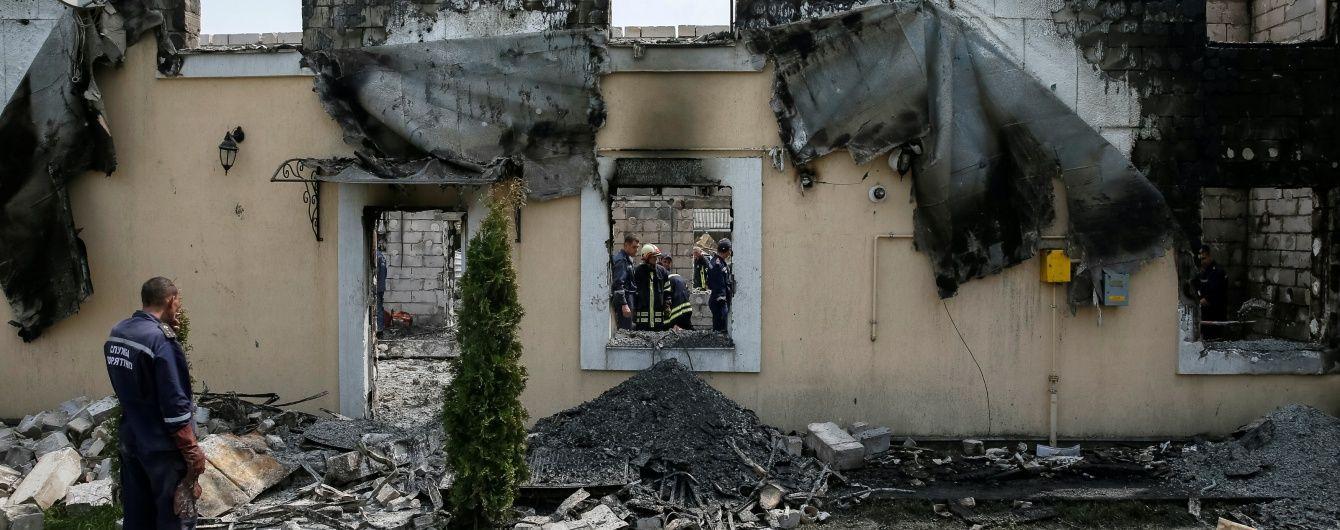 Власнику згорілого будинку для літніх людей оголосили підозру