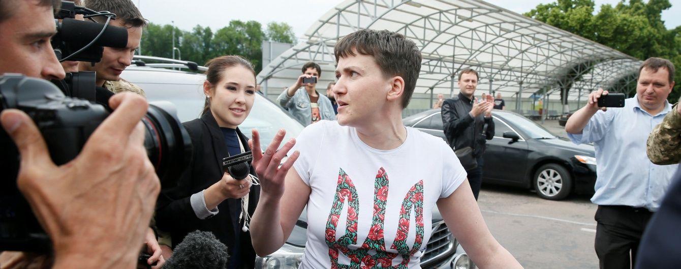 Перша прес-конференція адвокатів Савченко після звільнення льотчиці. Онлайн-трансляція