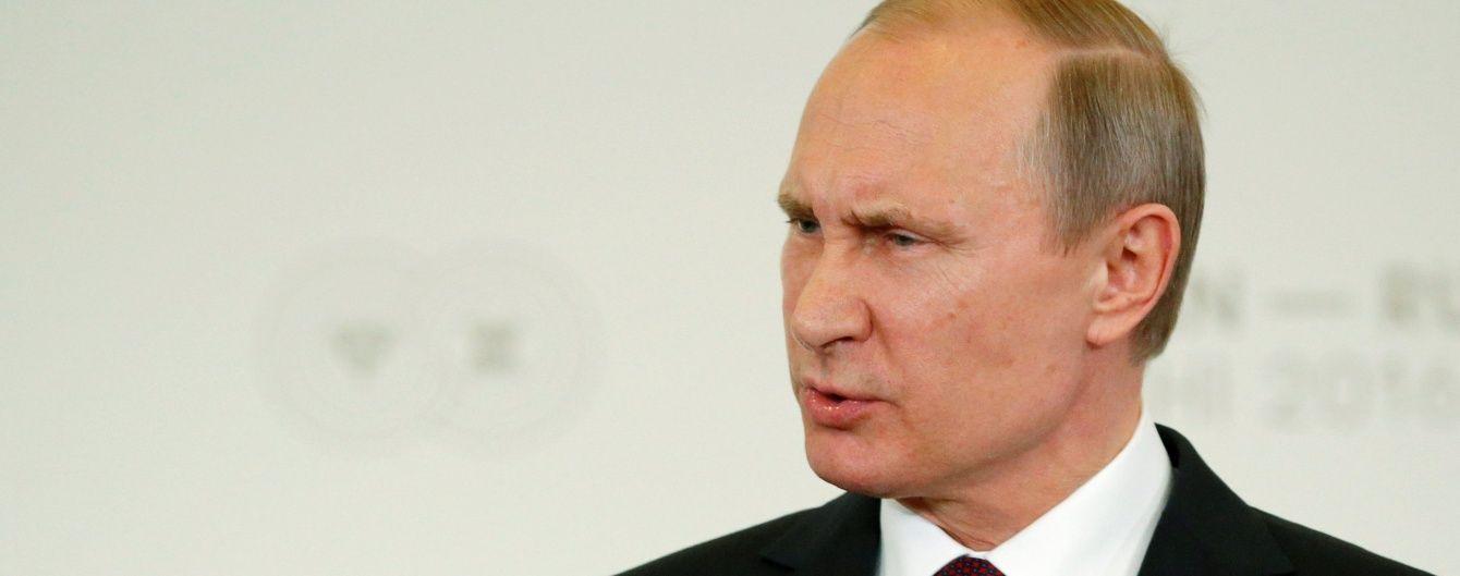 Путін похвалив Держдуму за анексію Криму