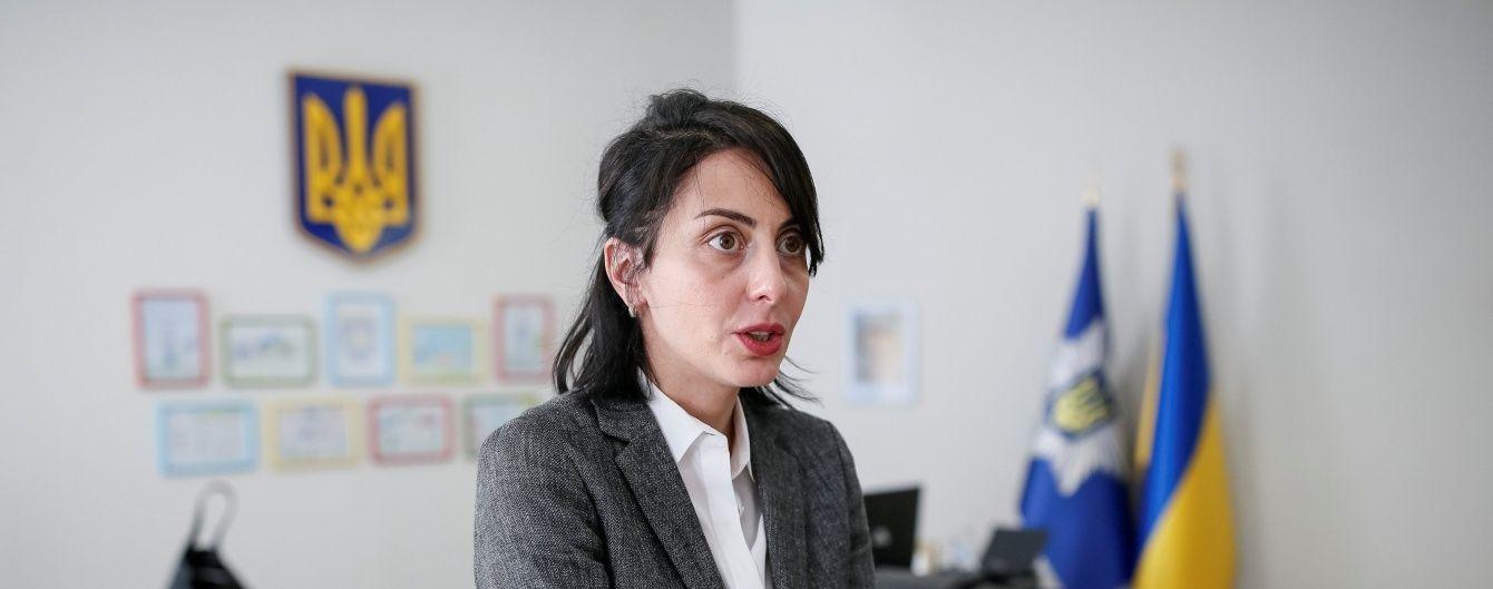 """Деканоідзе заявила, що """"злодії в законі"""" представляють інтереси спецслужб РФ в Україні"""