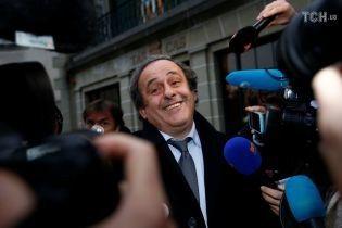 ФІФА не збирається скасовувати дискваліфікацію екс-президента УЄФА Платіні