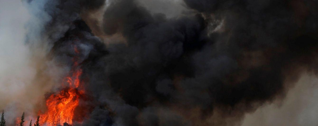 В канадском Форте Мак-Мюррей пожары уничтожили 20% домов