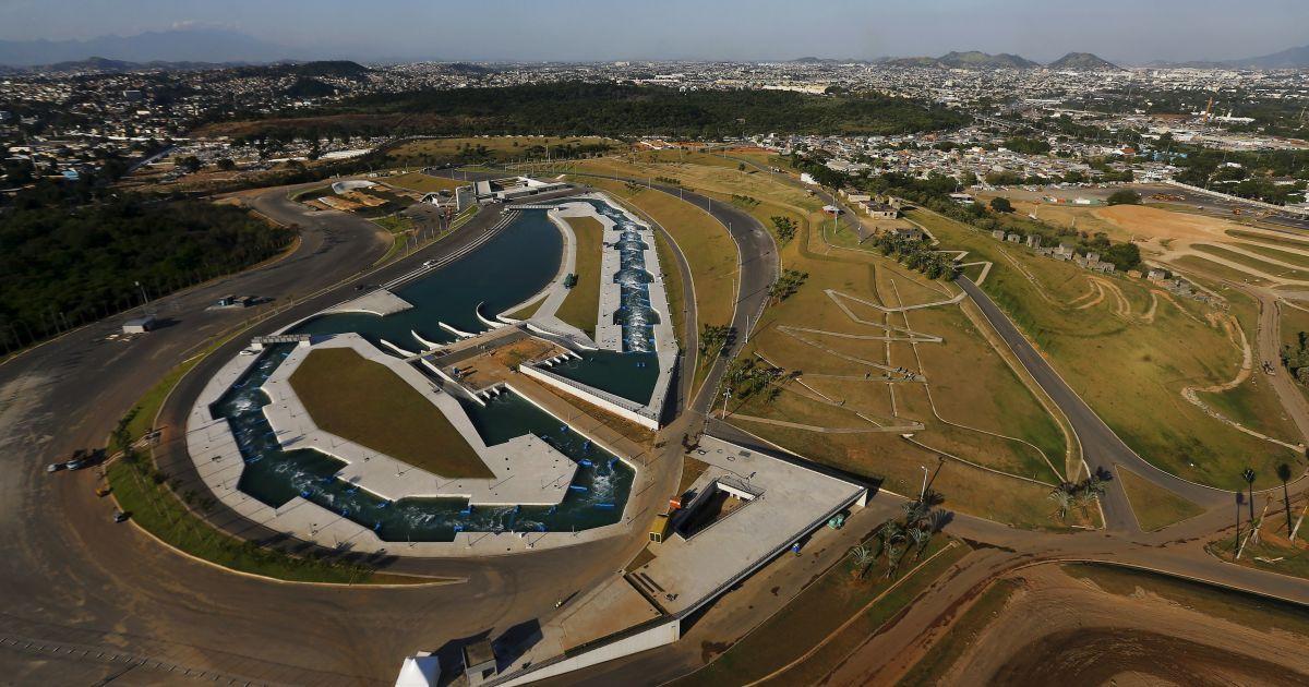 Вид з висоти пташиного польоту на X-Park в Олімпійському парку Deodoro в Ріо-де-Жанейро, Бразилія. До Олімпійських ігор залишилося 100 днів. @ Reuters