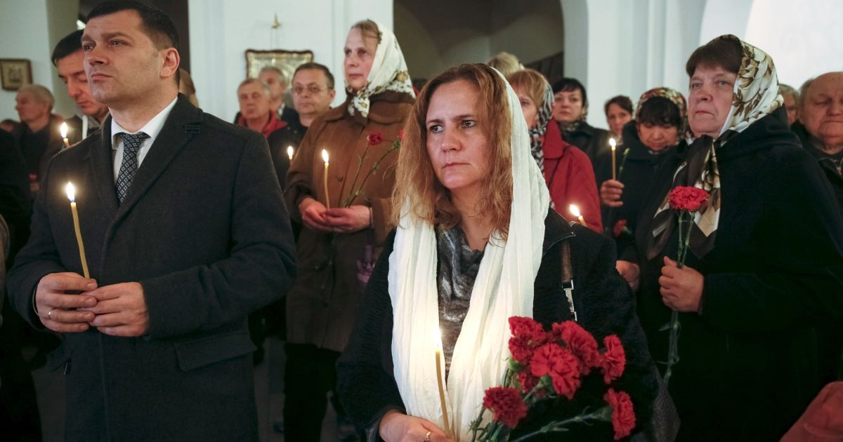 В Киеве устроили поминальную службу